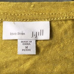 JJill 100%T shirt Mustard color
